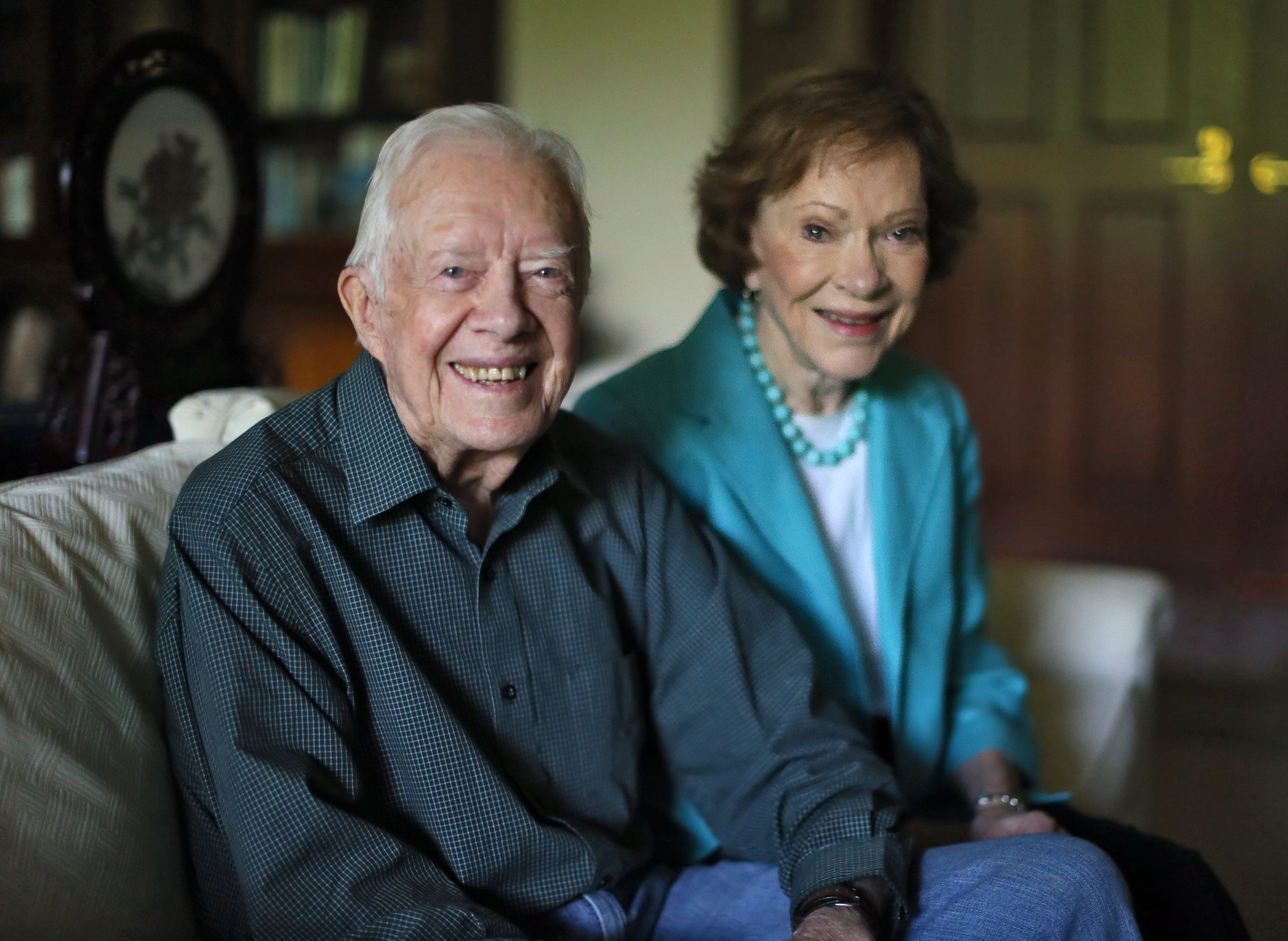 They will celebrate their 70th wedding anniversary July 7. BOB ANDRES / BANDRES@AJC.COM