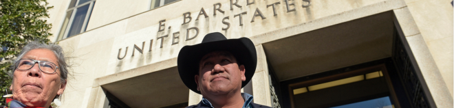 After the Army Corps of Engineers approved an easement for the North Dakota Pipeline, two tribes requested – unsuccessfully – to halt construction while their lawsuit over the project is resolved. AP Photo/Susan Walsh