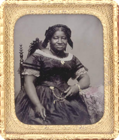 Ambrotype taken in Buffalo, New York circa 1856. [Library and Archives Canada]